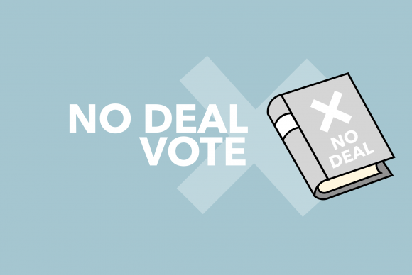 No Deal Has Been Rejected by MPs