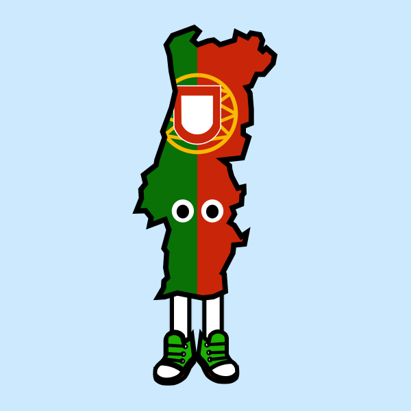 Portugal with Shoes Pin (Pre-Order)