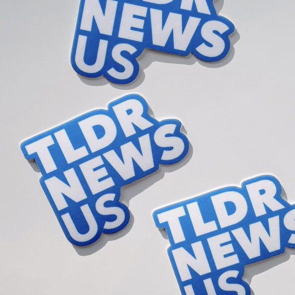 TLDR US Sticker