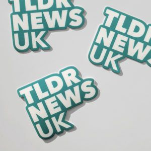 TLDR UK Sticker
