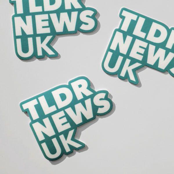 TLDR UK Sticker