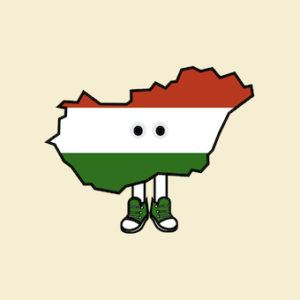 PRE-ORDER: Hungary with Shoes Pin