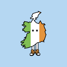 PRE-ORDER: Ireland with Shoes Pin