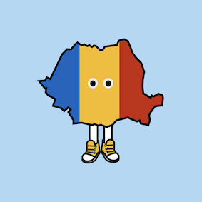 PRE-ORDER: Romania with Shoes Pin