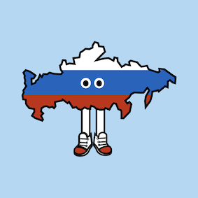 PRE-ORDER: Russia with Shoes Pin