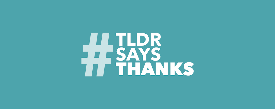 TLDR Says Thanks: Submit Your Videos