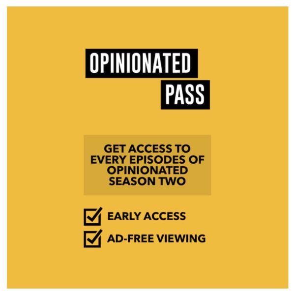 Opinionated Pass 2