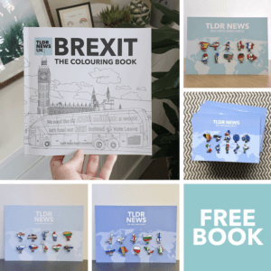 Brexit: The Colouring Book & An All The Shoes Set