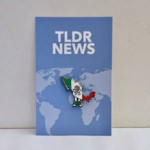 Mexico with Shoes Pin
