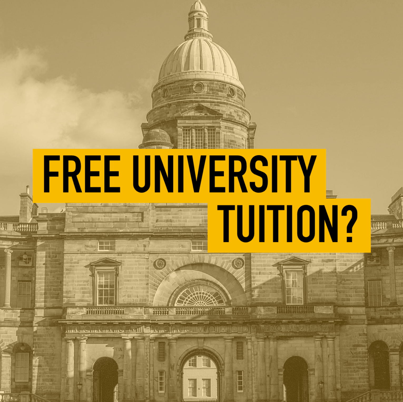 Should University Be Free To All?