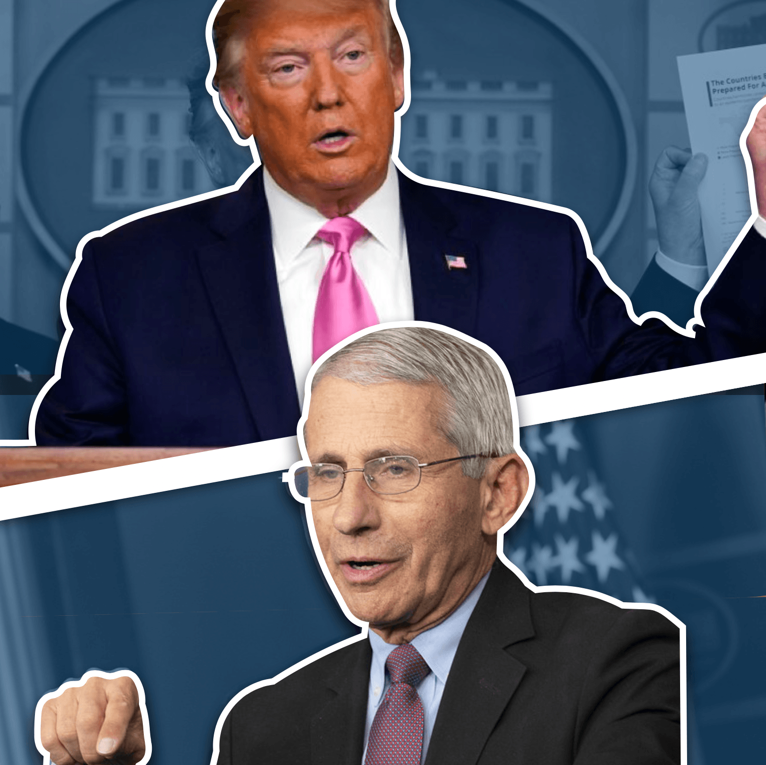 The Ongoing Battle Between Trump & Dr Fauci: Really Important & Inflated by the Media?