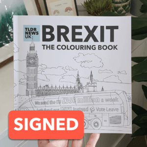 Brexit: The Colouring Book (SIGNED) 1