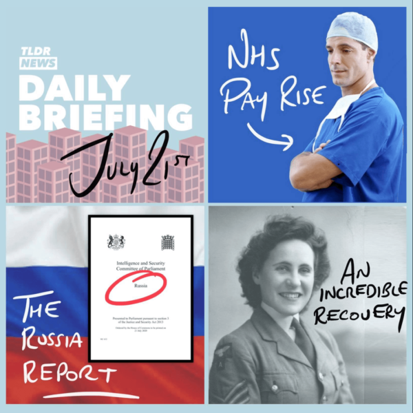 July 21st: Public Sector Pay Increases, the Russia Report and a Remarkable Woman 1