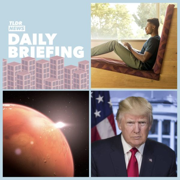 July 30th: Self-Isolation, A Trip to Mars and a Presidential Delay