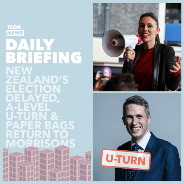 August 17th: The New Zealand Election Delay, Morrison's Bags and a U-Turn from the Government