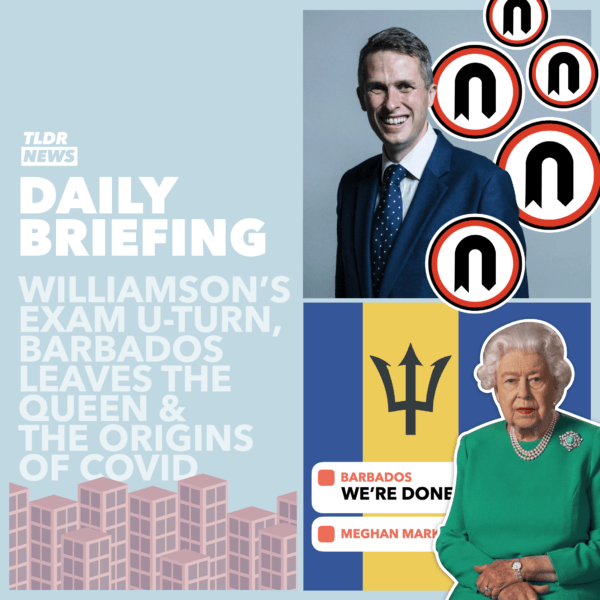 September 16th: Williamson's U-Turn, The Queen and Barbados and the Origins of COVID-19 3
