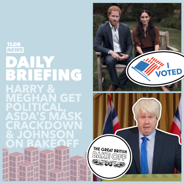 September 23rd: ASDA's Mask Crackdown, the Political Prince and Boris Johnson on Bake Off 3