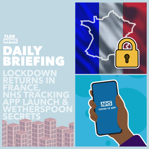 September 24th: A Wetherspoons Whistleblower, French Fury and NHS Track and Trace