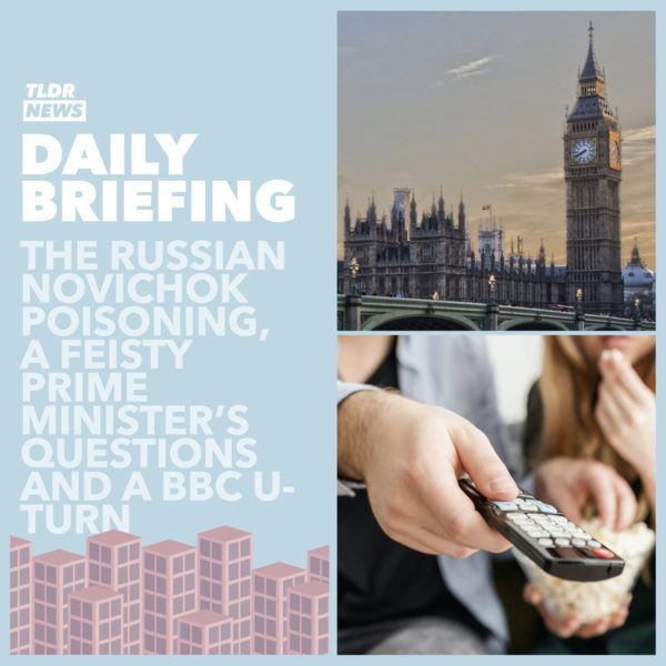 September 2: A Novichok Poisoning, Prime Minister's Questions