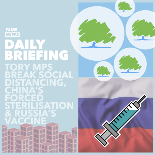 September 4: Johnson's Social Distancing, Xinjiang Forced Sterilisation and Russia's Vaccine