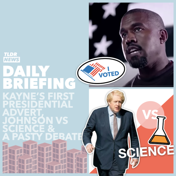 October 13: Kanye West's Campaign Advert, Johnson vs. Scientific Advisors and a Debate About Pasties
