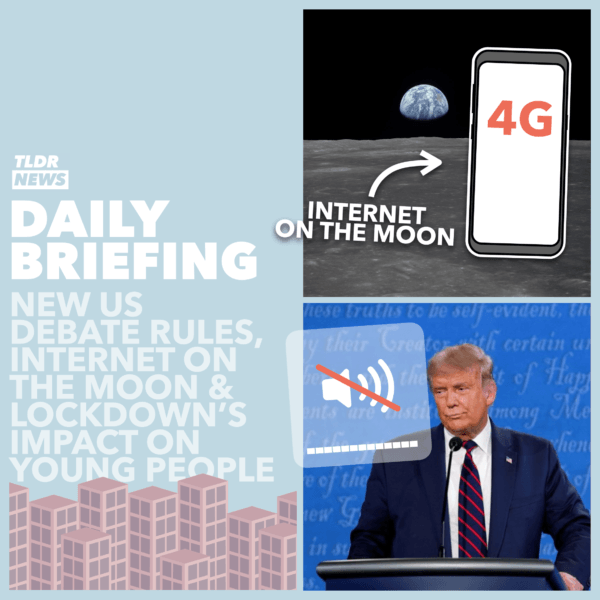 October 20th: Lockdown and Young People, Debate Rule Changes and Internet on the Moon