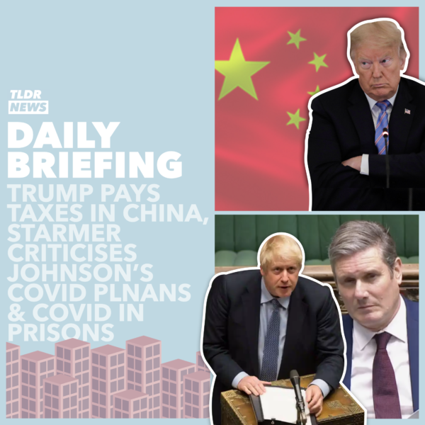 October 21st: Prime Minister's Questions, Trump's Chinese Taxes and COVID in Prisons
