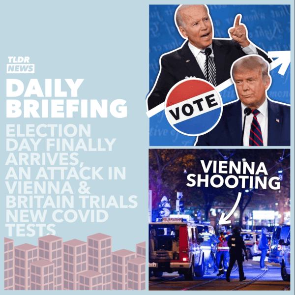 November 03: The US Election is Here, An Attack in Vienna, and Testing Liverpool 3