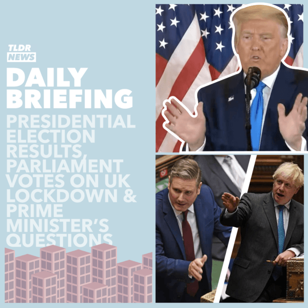 November 04: A Lack of President, Prime Minister's Questions, and Voting on the Lockdown 3