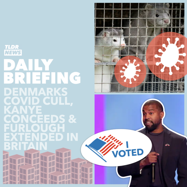 November 05: A Ban on Sport, Kanye Concedes, Denmark's COVID Cull & Furlough in Britain