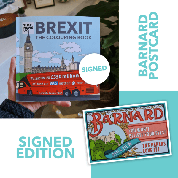 Brexit: The Colouring Book Expanded Edition (Signed)