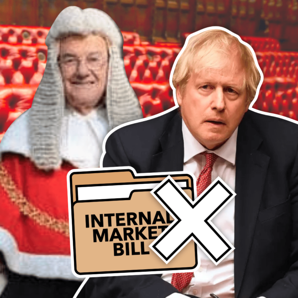 Johnson's Brexit Plan Rejected by the House of Lords: Internal Market Bill Amended