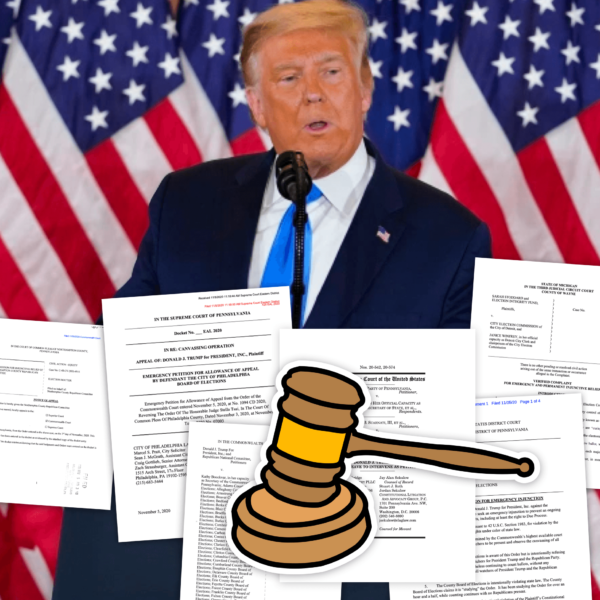 All Trump's Election Lawsuits Explained: Trump's Court Battles Overturning the Election?
