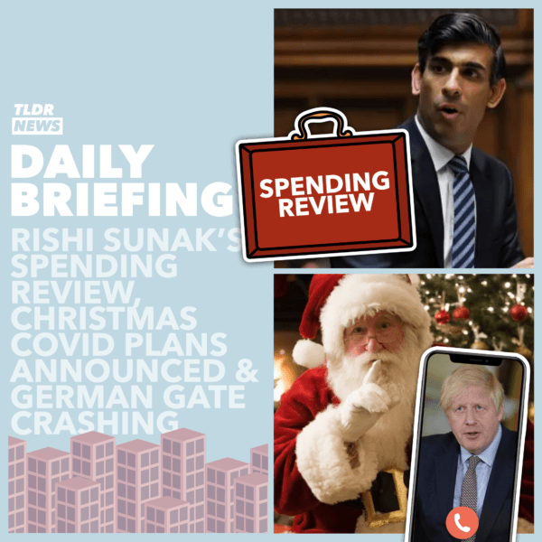 November 25: The Spending Review, Johnson Speaks to Santa, German Gatecrashing 2