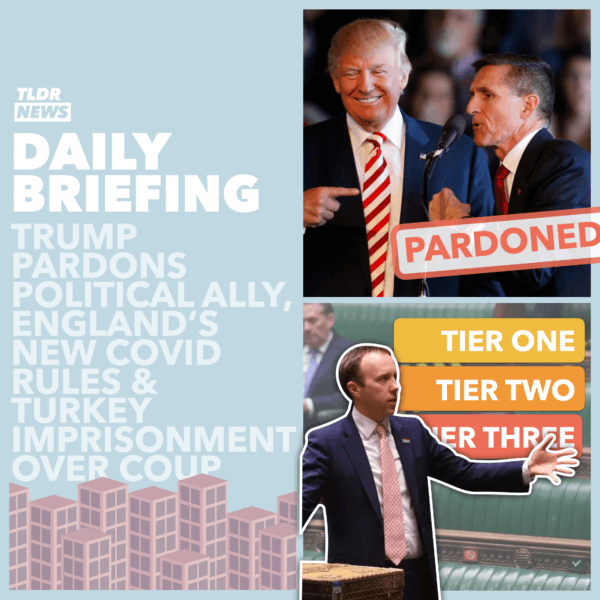 November 26: Trump's Pardon, Turkey's Imprisonment and Britain's Rules 3
