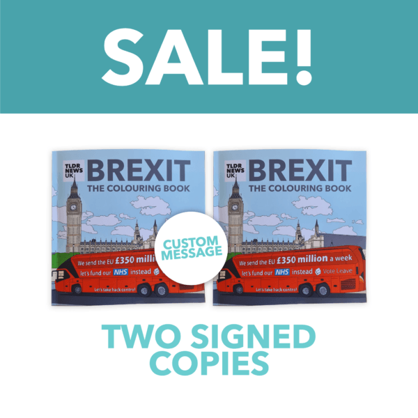 Brexit: The Colouring Book Expanded Edition