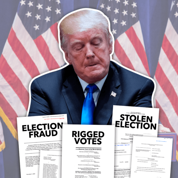Trump's Fraud Lawsuits: Is He Still Taking His 'Election Fraud' Claims Seriously?