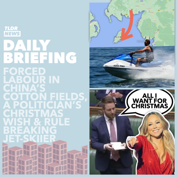 December 15: Xinjiang Labour, A Romantic Rule-Break, and An MP's Christmas Wish 3