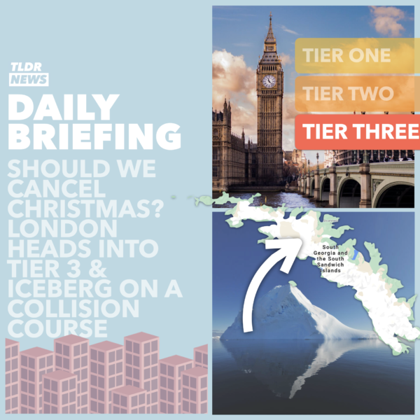 December 16: An Iceberg's Collision Course, A Case for Tier 2 and An Argument to Cancel Christmas 3