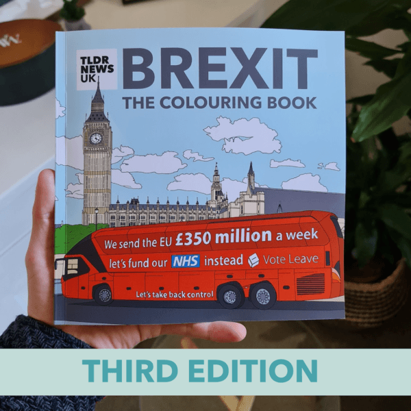 Brexit: The Colouring Book (Third Edition)