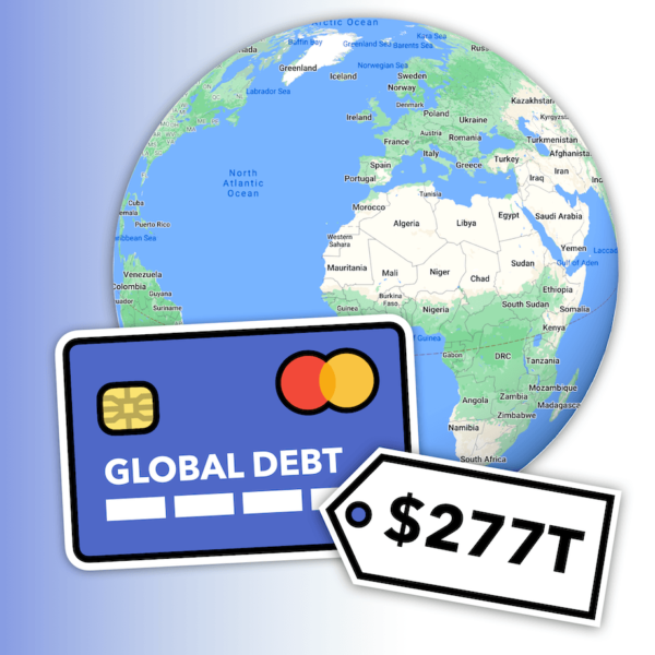 $277,000,000,000,000 of Global Debt: Who Owes it & To Whom? 1