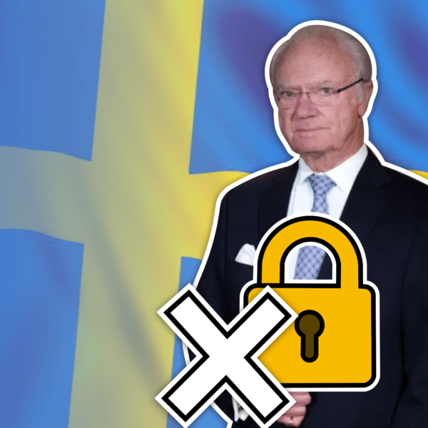 Failure of Sweden's No-Lockdown Strategy: With Surging Deaths Sweden's King Speaks Out