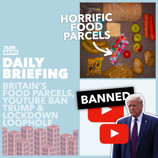 January 13: Food Parcels, Trump on YouTube and a Lockdown Loophole 3