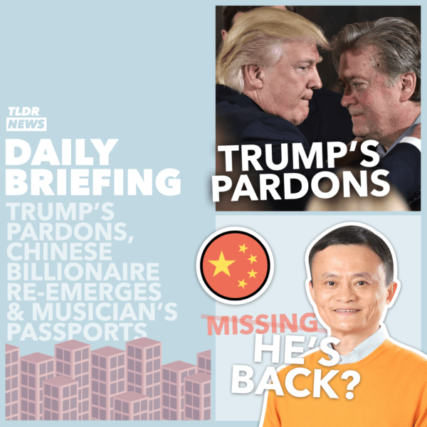 January 20: Biden Becomes the New President, Musicians' Passports for Brexit Britain, and Chinese Billionaire Jack Ma Re-Emerges