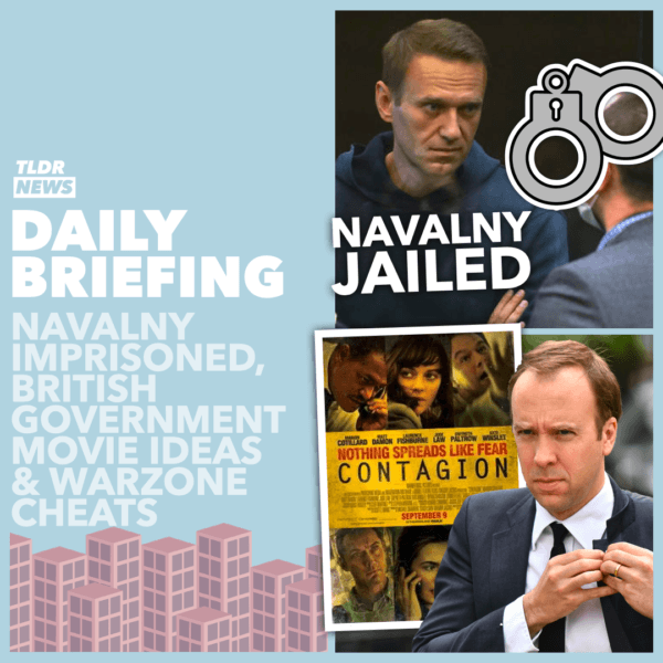 February 3: Navalny in Prison, the Film That Inspired the Government, and Warzone Cheats