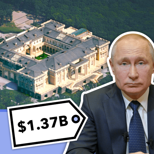 Did Corruption Pay for Putin's $1.37 Billion Palace? How This Home Sparked Protests