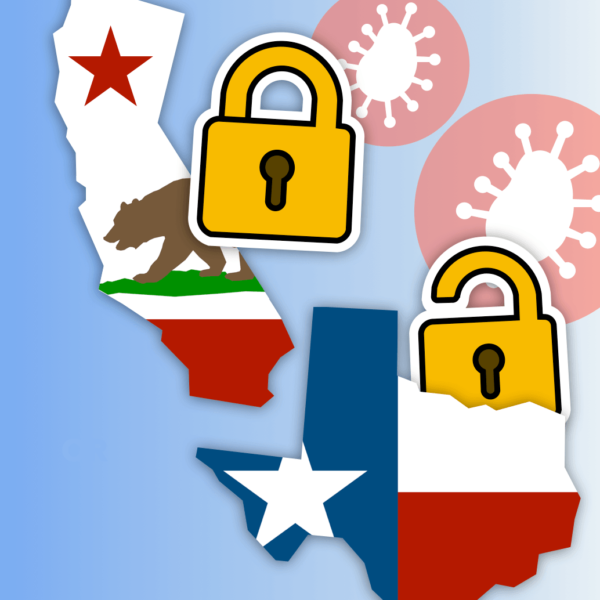 California vs Texas: Who Handled COVID Better? Did California's Lockdown Work?