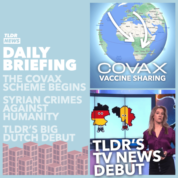 February 24: The Covax Scheme, Crimes Against Humanity, and an MP told to Dress Properly 2