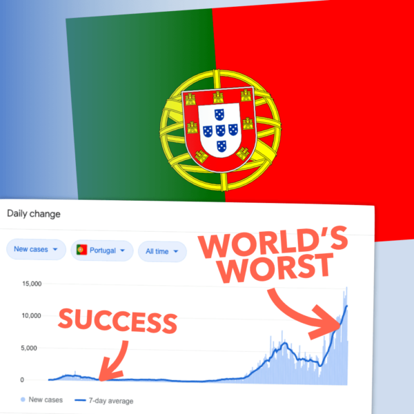 How Portugal went from COVID Gold Standard to the World's Worst