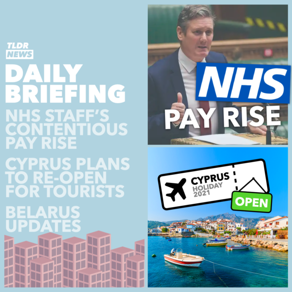 March 05: Belarusian News, Cyprian Tourism, and NHS Workers Pay 3